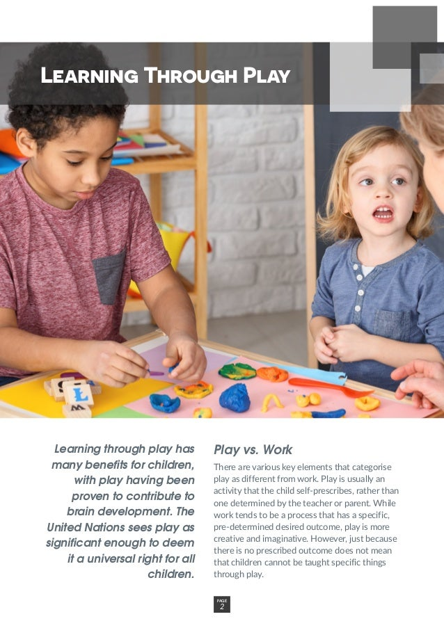 Learning through play has many benefits for children, with play having been proven to contribute to brain development. The...