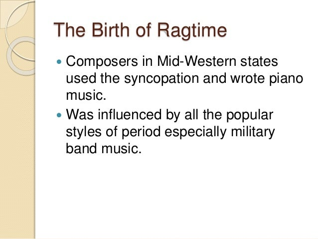 Ragtime Essays (Examples)