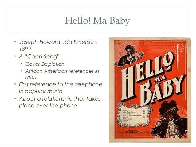 IVOR BIGGUN - HELLO MY BABY LYRICS - SongLyrics.com