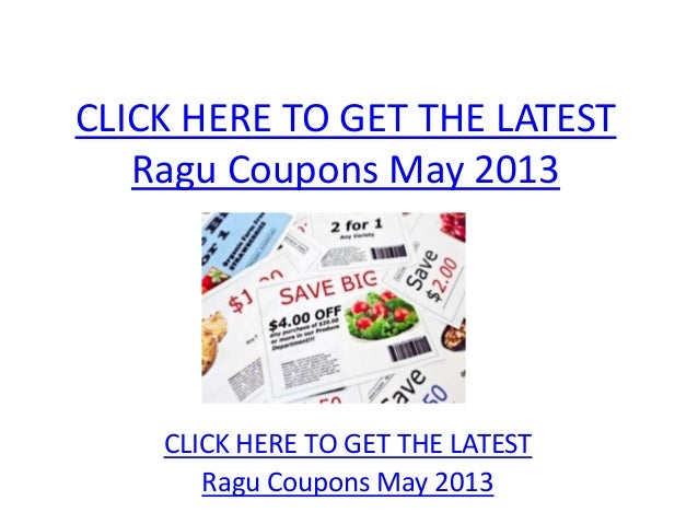 photo about Ragu Printable Coupons referred to as Ragu Discount coupons Might 2013 - Printable Ragu Coupon codes May well 2013
