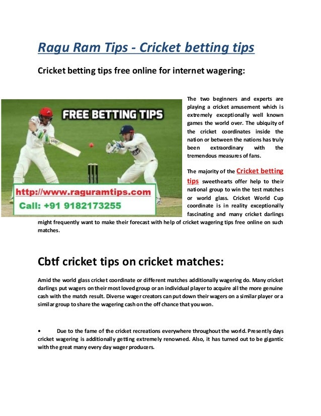 Online betting cricket tips free csgo lounge betting series 63