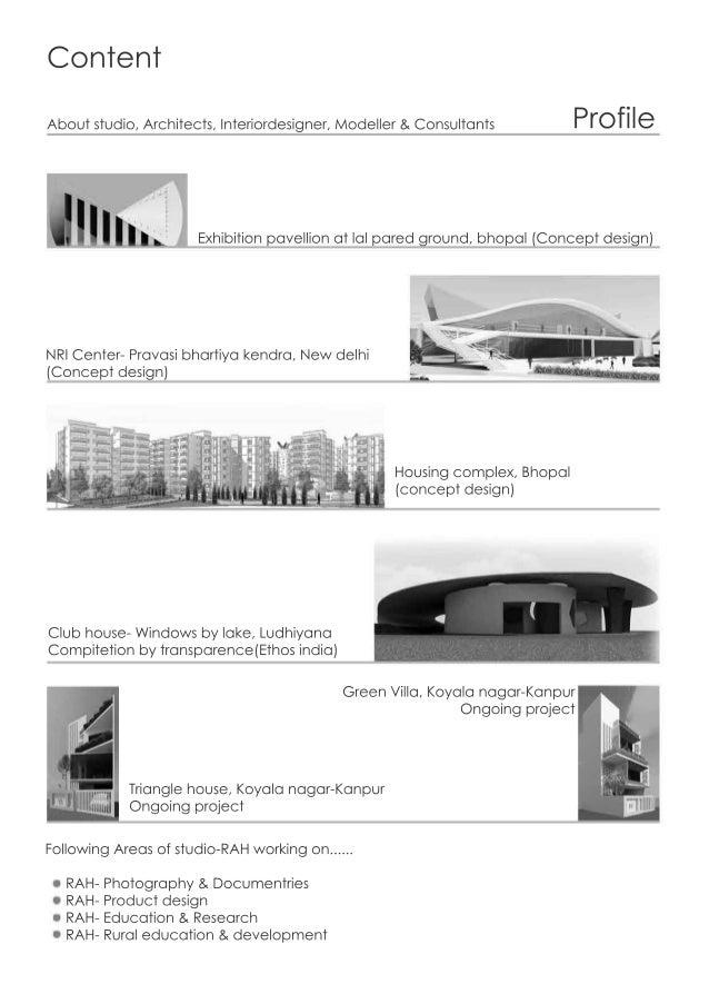 Content ProfileAboutstudio,Architects,Interiordesigner,Modeller&Consultants Exhibitionpavellionatlalparedground,bhopal(Con...