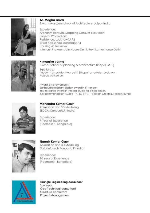 Himanshuverma B.Arch-Schoolofplanning&Architecture,Bhopal(M.P.) Experience: Kapoor&associates-Newdelhi,Sthapatiassociates-...