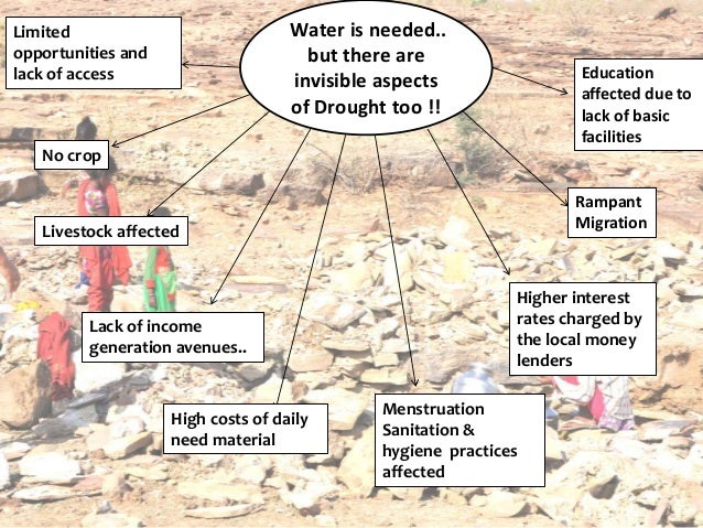 Goonj's RAHAT efforts in Drought affected areas Slide 3