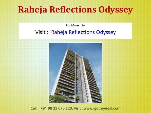 Raheja reflections odyssey kandivali east for Living room kandivali east