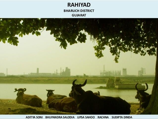 RAHIYAD                      BHARUCH DISTRICT                          GUJARATADITYA SONI BHUPANDRA SALODIA LIPSA SAHOO RA...