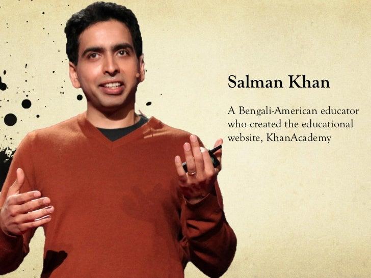 Tedtalks salman khan of khanacademy for Umaima marvi