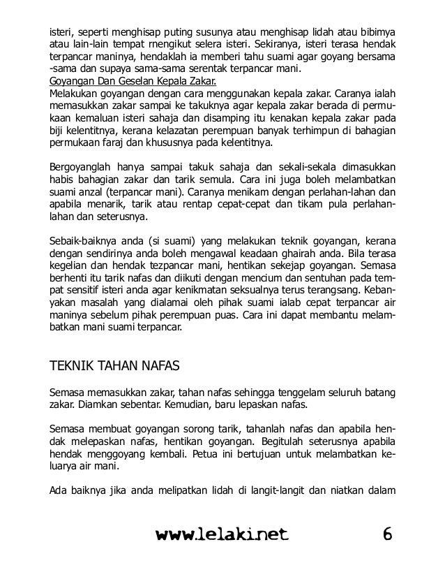 Rahsia Nikmat Jimak LELAKI NET