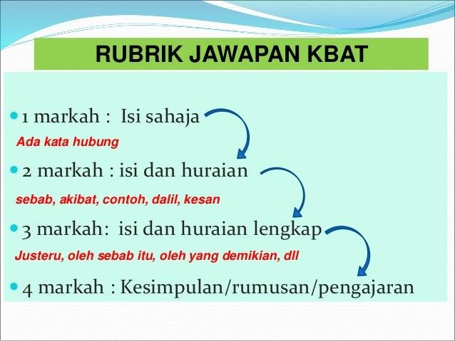 Contoh Soalan Kbat Agama Islam Spm Terengganu V