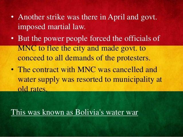 popular struggles and movements in bolivia wikipedia