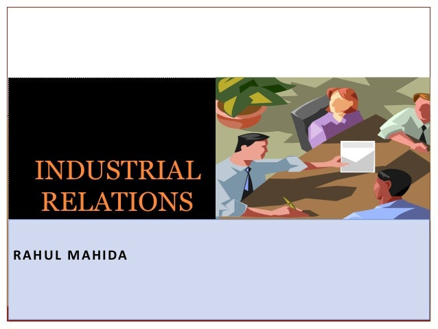 industrial relationship