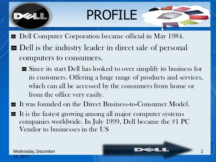 case study of dell Dell corporation, strategic case analysis prepared by ijaz qureshi and john mufich, argosy university business school, san francisco, california, usa.