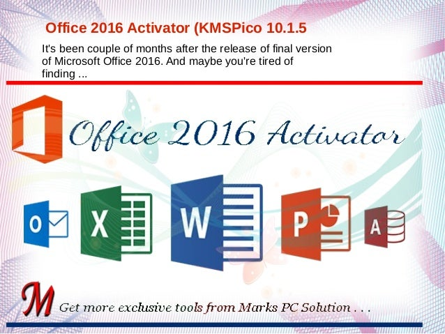 office activation kmspico