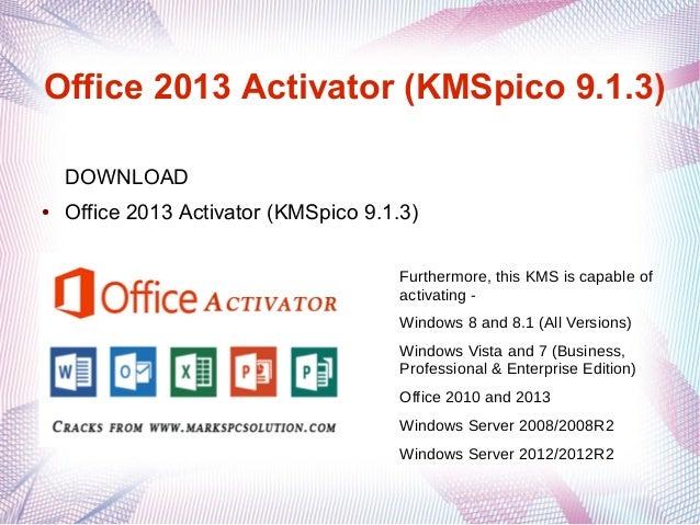 KMSpico office 2013,