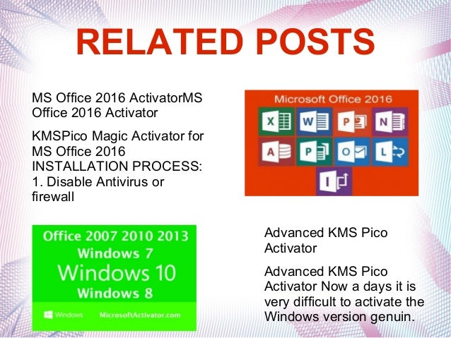 microsoft office 2016 activator kmspico
