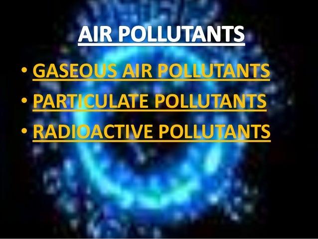 seminar on environmental pollution pdf