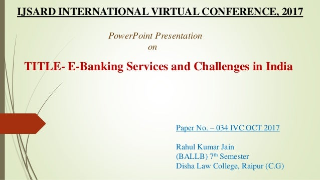 challenges of e banking regulations