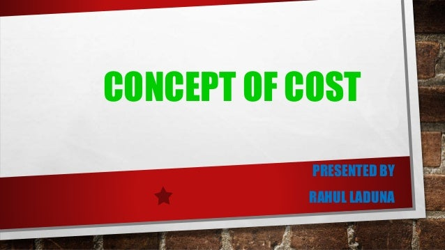 Pricing concepts the concept of price economics essay
