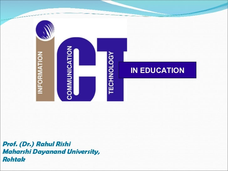 ict in higher education thesis