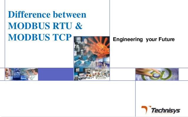 RTU vs TCP