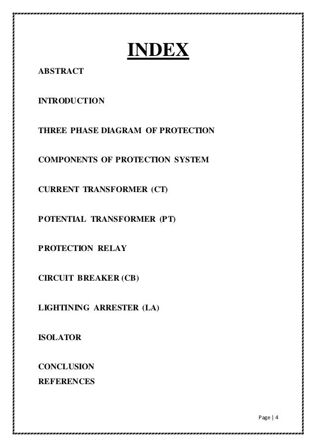 Power system protection seminar report 4 page 4 index publicscrutiny Choice Image