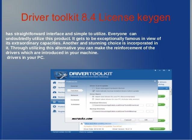 register driver toolkit 8.4 license key