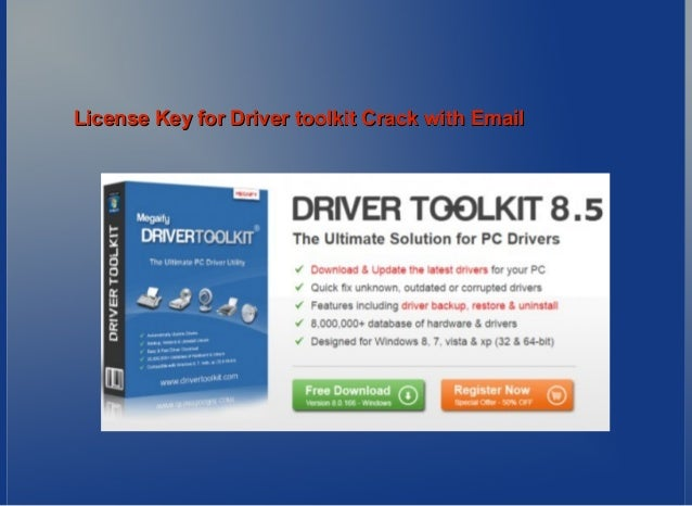 driver toolkit licence key 8.5 free
