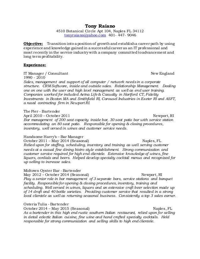 Raiano resume may 2016