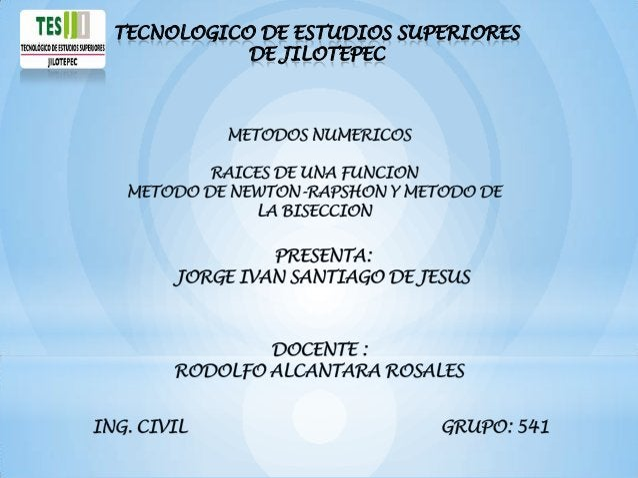 TECNOLOGICO DE ESTUDIOS SUPERIORES           DE JILOTEPEC