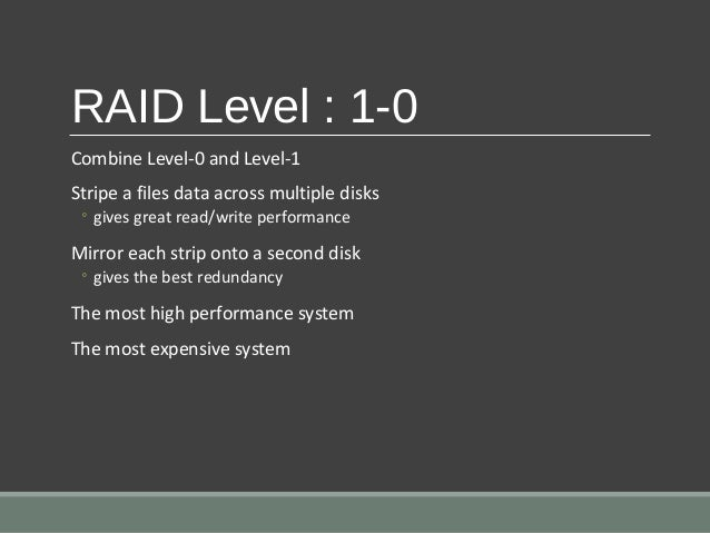 raid redundant array of inexpensive disks essay This feature is not available right now please try again later.
