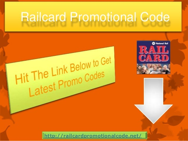 Railcard Promotional Code http://railcardpromotionalcode.net/