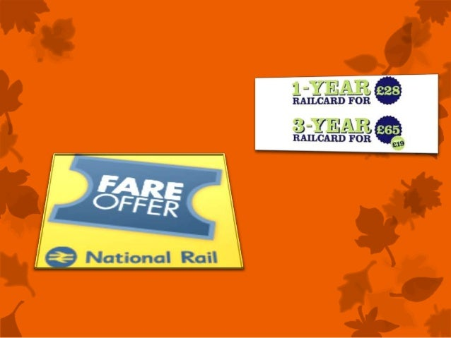 1. Get 12% Student Discount: Get 12% off Railcards with an NUS extra card. Login to NUS to get the promotional code which can be used on the website when purchasing a 1-year Railcard (normally £30).. 2. Get 50% off with Tesco Clubcard Points: Get 50% off annual railcards by converting Tesco Clubcard Points. 1-year railcards are usually £30, so this is a huge 50% discount making.