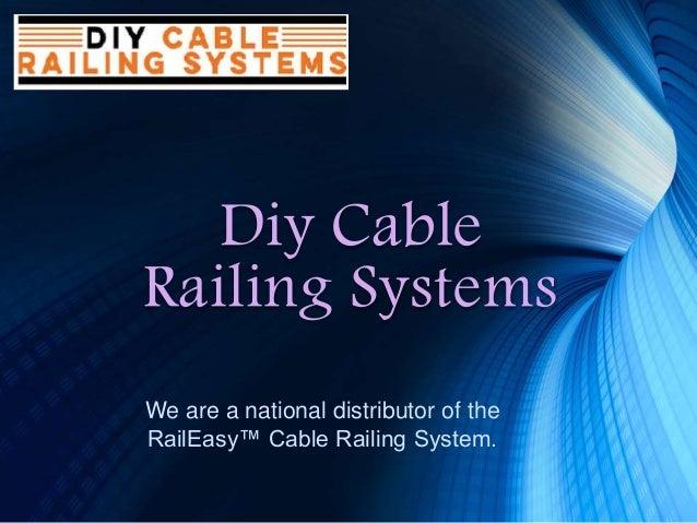 Raileasy Swivel End Diy Cable Railing Systems