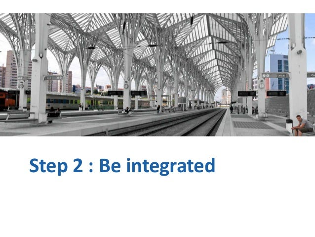 Step 2 : Be integrated