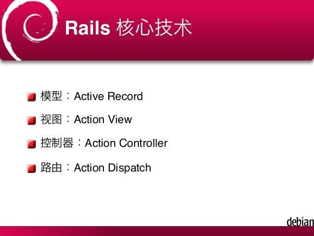 Rails 快速上手攻略(Rails Getting Started) Slide 3