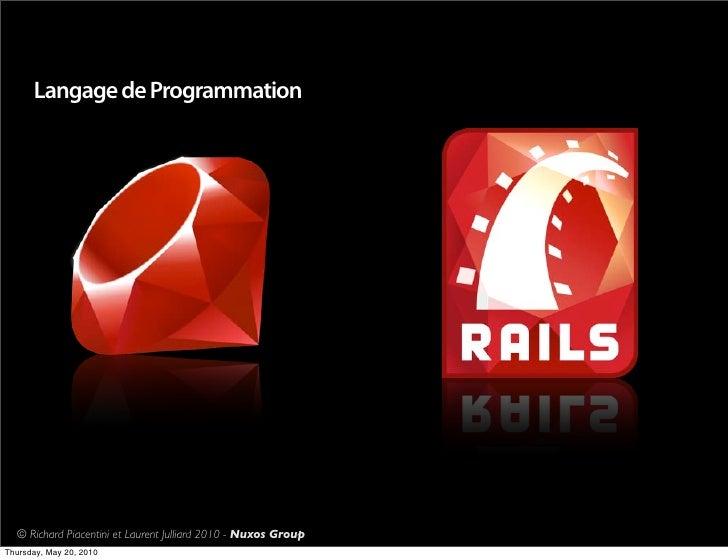 Tunisia on Rails 2010 Slide 3