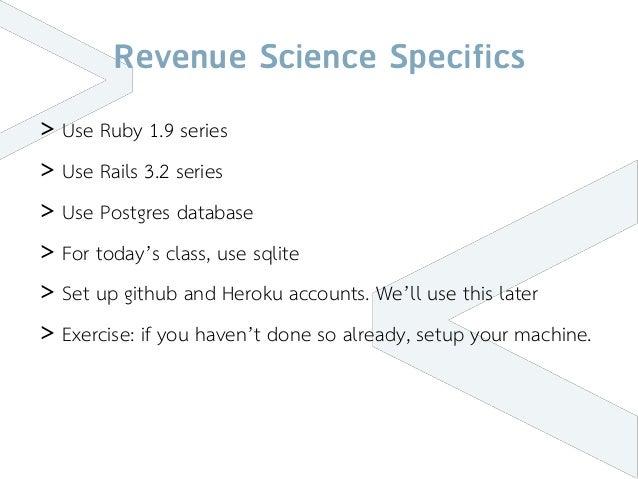 Basic Rails Training