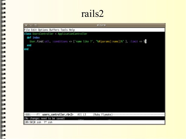 rails2: <%=h user.name %> ↓ rails3: <%= user.name%> rails2: <%= user.name %> ↓ rails3: <%= raw user.name %>