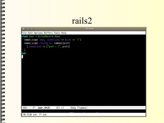 ActiveRecoedが 複数のライブラリに分割 <ul><li>ActiveRecord