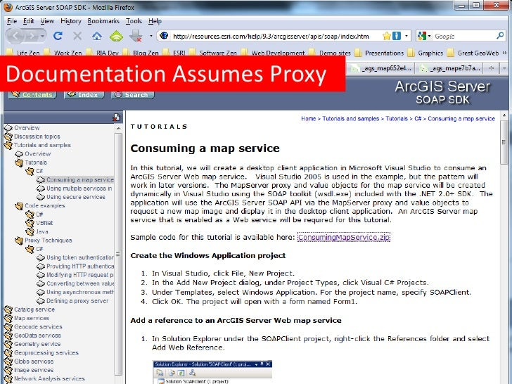 Using ArcGIS Server with Ruby on Rails