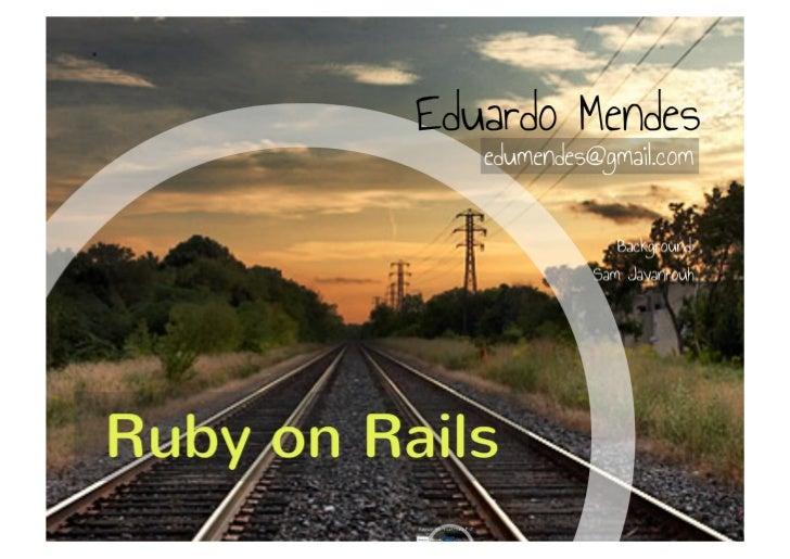 Rails - parte 1
