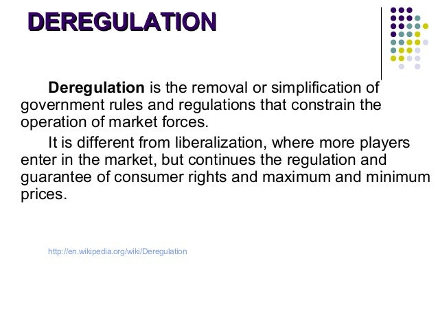 railroad deregulation in eu and us Free deregulation papers  the us government had formed the interstate commerce commission to regulate the railroad  pre-deregulation us airways.