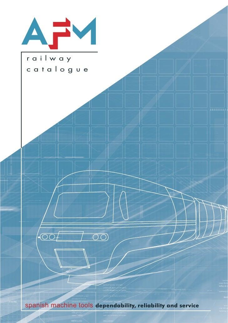 AFM Railway Catalogue