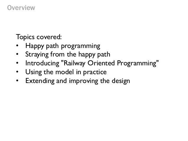 Railway Oriented Programming Slide 3