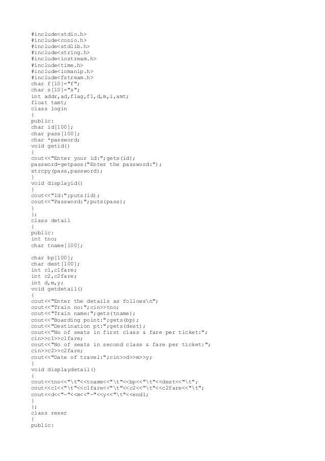 #include<stdio.h>#include<conio.h>#include<stdlib.h>#include<string.h>#include<iostream.h>#include<time.h>#include<iomanip...