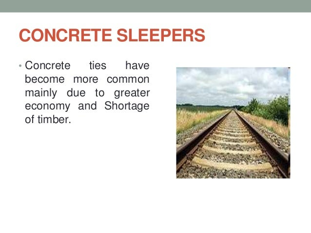 Railway track design ppt 2018