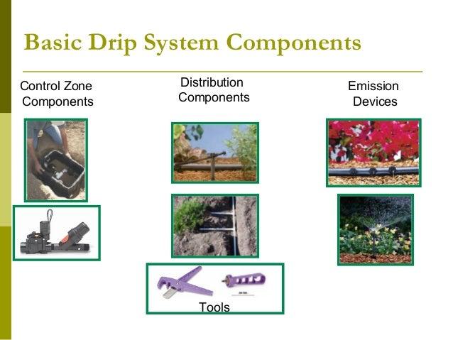 Drip irrigation update