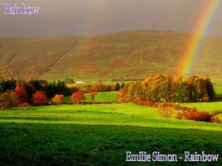 Rainbow Emilie Simon - Rainbow