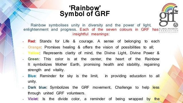 Rainbow Concept,Our Symbol