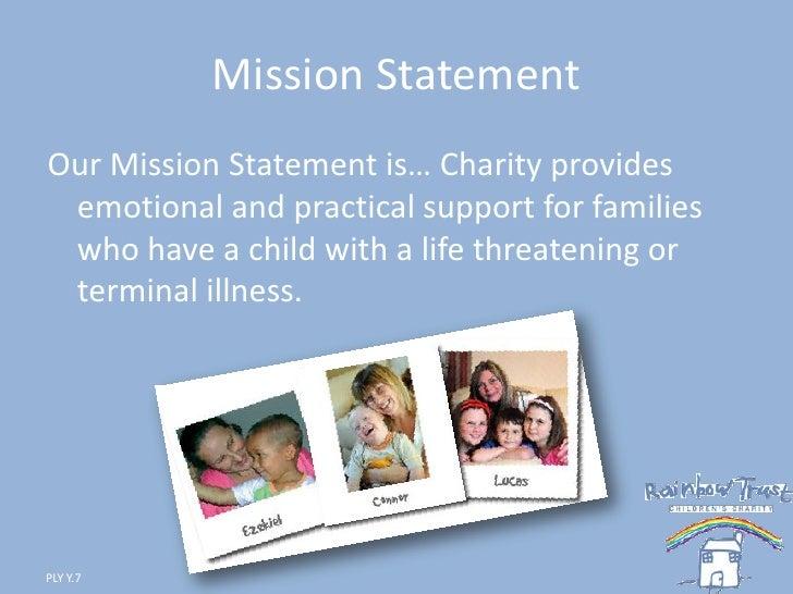 Rainbow trust charity (ply)..